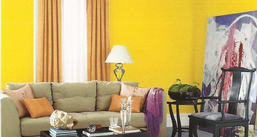Living Room Entrancing Yellow Grey
