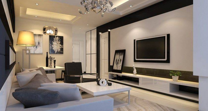 Living Room Feature Wall Ideas House
