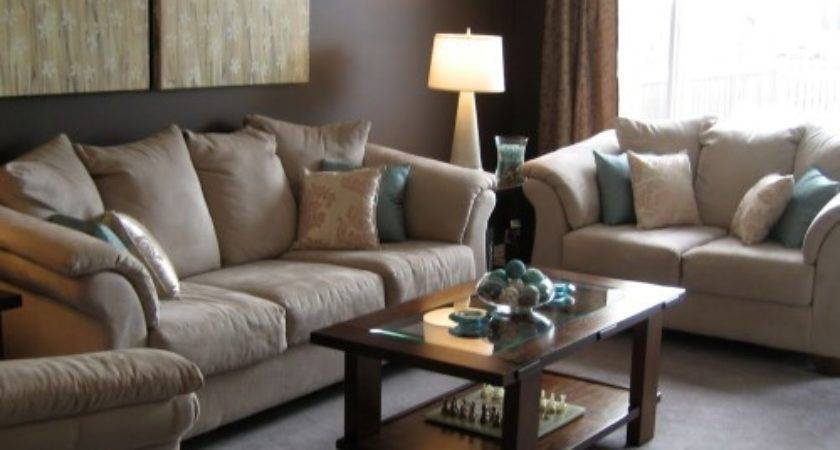 Living Room Ideas Brown Couch Modern House