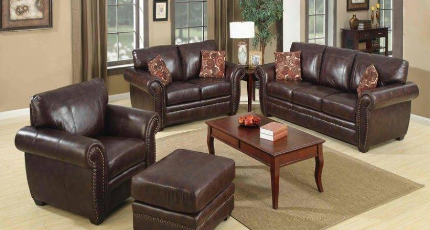 Living Room Ideas Leather Great Decorating