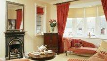 Living Room Ideas Red Cream Information
