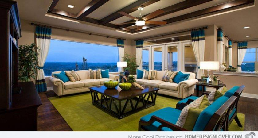 Living Room Ideas Turquoise Yellow Brown