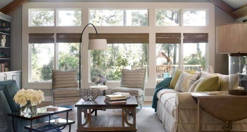 Living Room Large Windows Home Decorating Trends