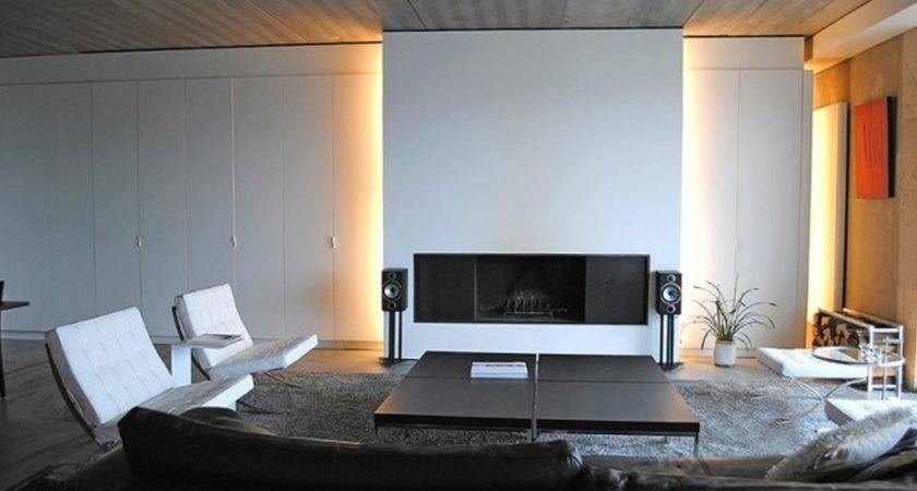 Living Room Modern Ideas Fireplace