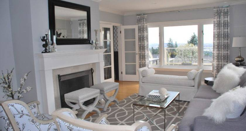 Living Room Outstanding Gray Ideas