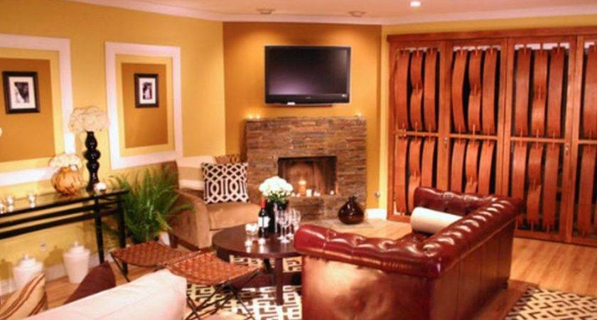 Living Room Paint Colors Brown Furniture