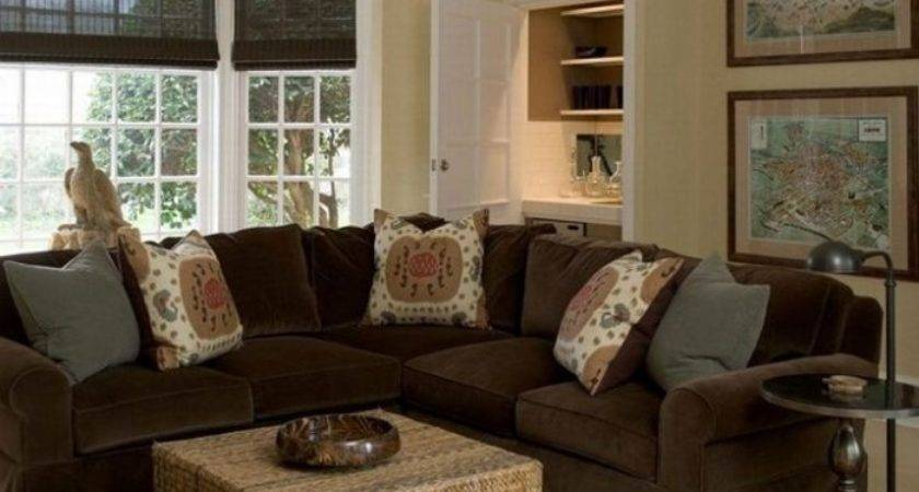 Living Room Paint Ideas Brown Furniture Modern House