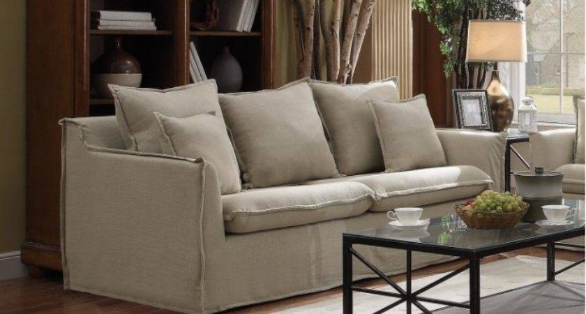 Living Room Set Beige Sets