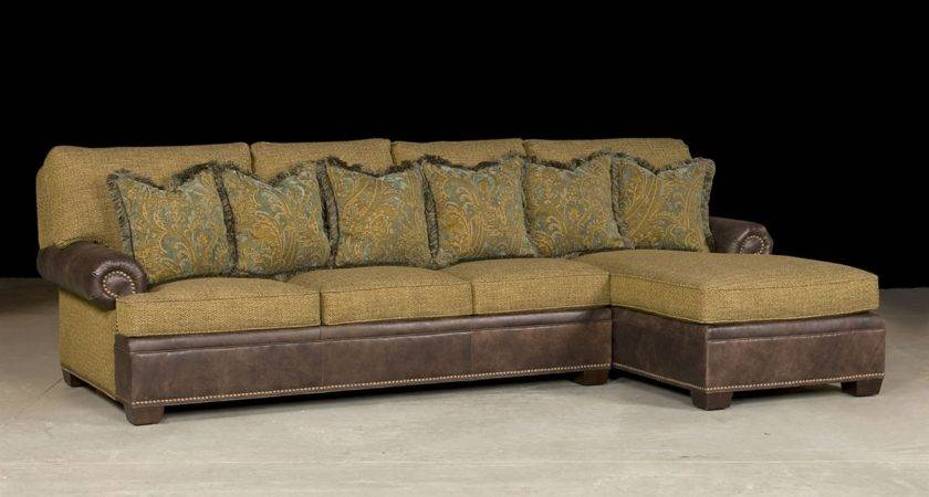 Living Room Shaped Leather Couch Chaise