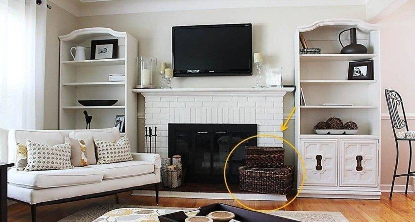 Living Room Storage Solutions Ideas Best