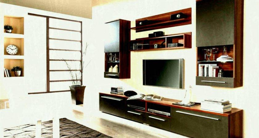 Living Room Wall Unit Designs Lcd