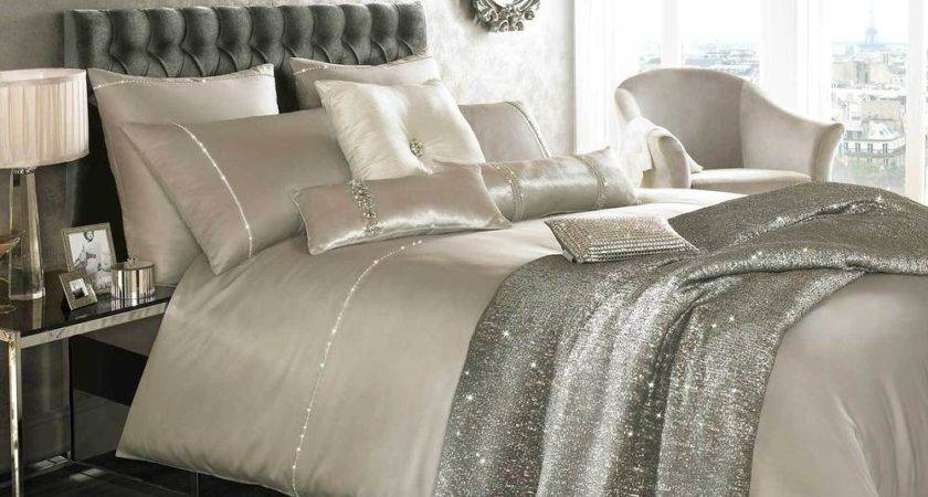 Liza Kylie Minogue Beige Bedding Duvet Cushions