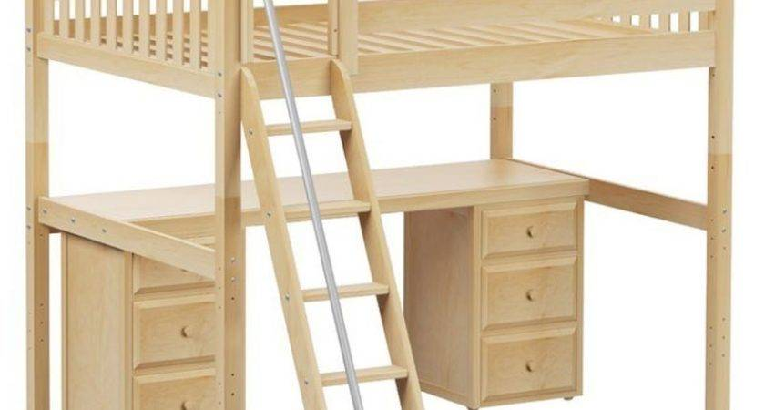 Loft Bed Desk Home Decorations
