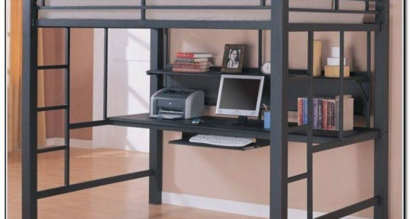 Loft Bed Desk Ikea Beds Home Design Ideas