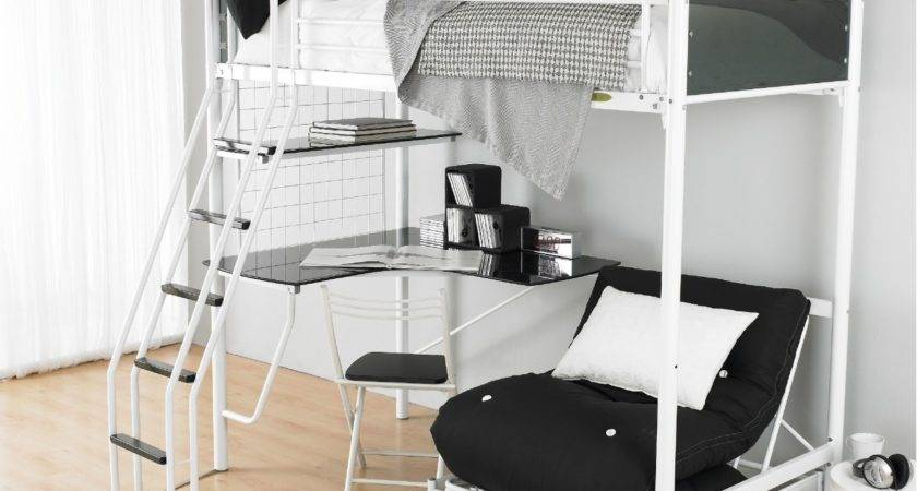 Loft Bed Desk Teenagers Design Bunk