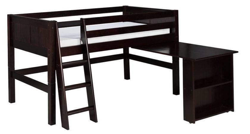 Loft Bunk Bed Desk Underneath Home Design Ideas