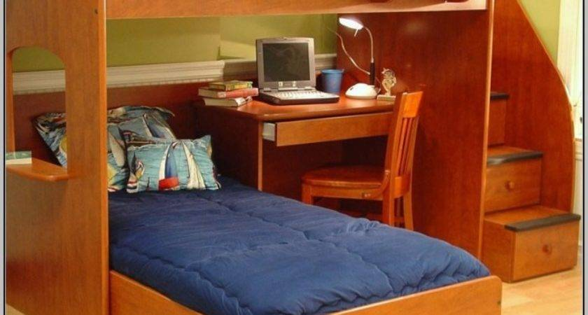 Loft Bunk Beds Desk Home Design Ideas