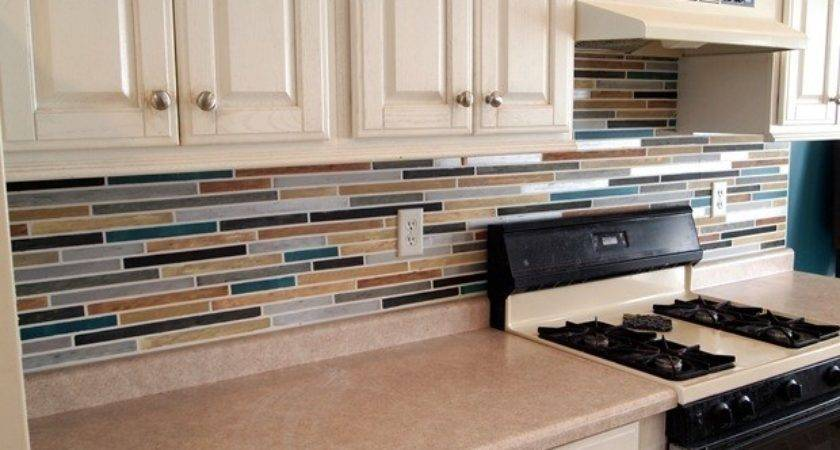 Looks Like Tile Kitchen Backsplash