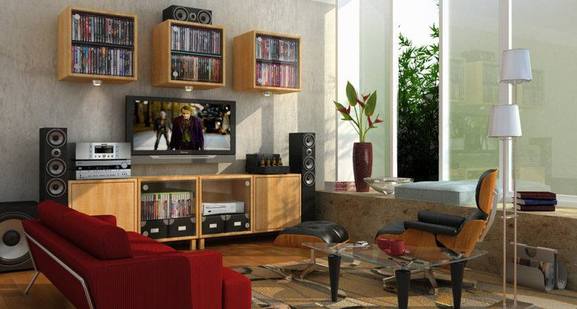 Lounge Interior Design Deco