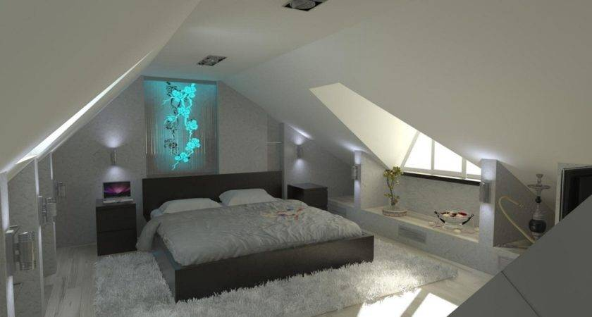 Lovely Blue Attic Room Ideas Collections Dream Home