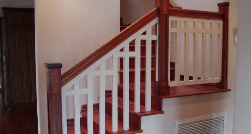 Lovely Interior Handrails Wood Railings