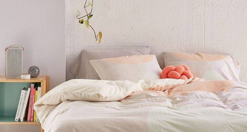 Lovely Peach White Bedroom Additional Home