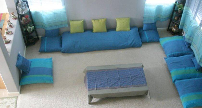 Low Seating Furniture Living Room