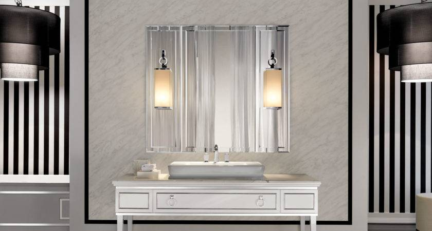 Lutetia Luxury Art Deco Italian Bathroom Furniture