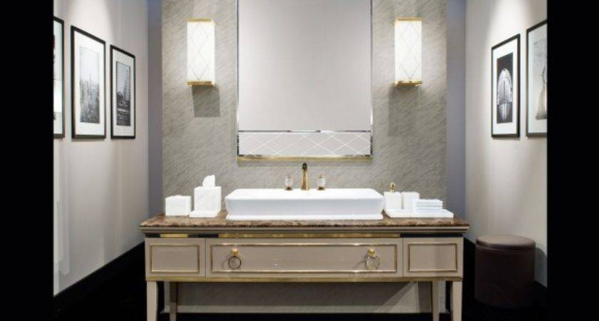 Lutetia Luxury Italian Bathroom Vanity Taupe