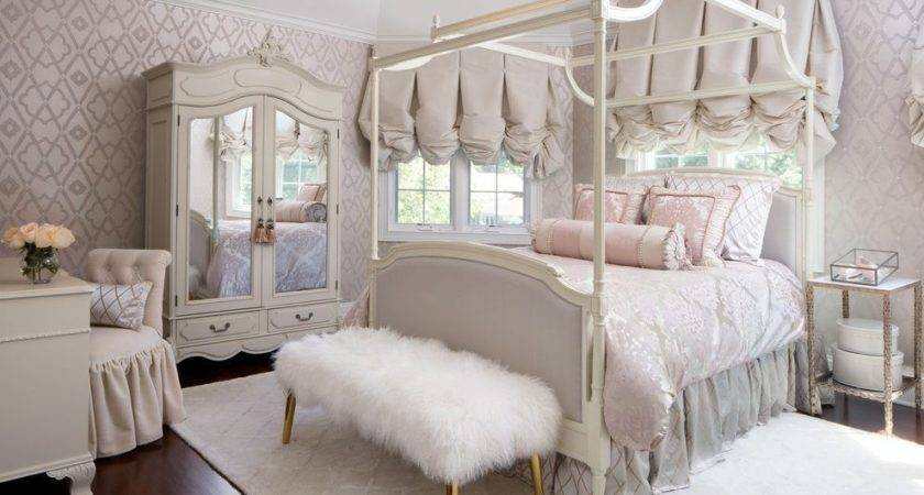 Luxury Girl Fashion Bedroom Victorian Mirrored