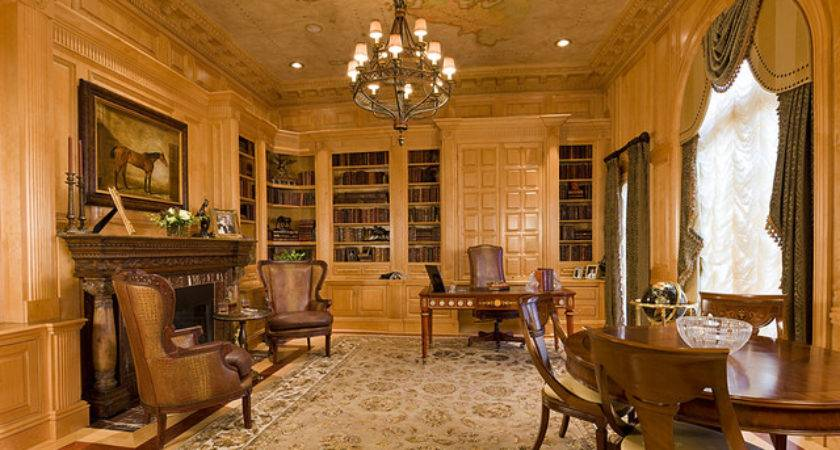 Luxury Home Library Office Flickr