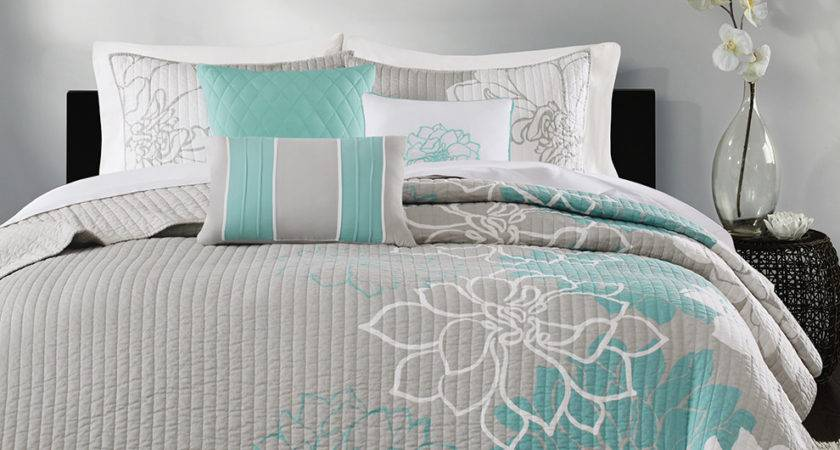 Madison Park Lola Piece Quilted Coverlet Set Ebay