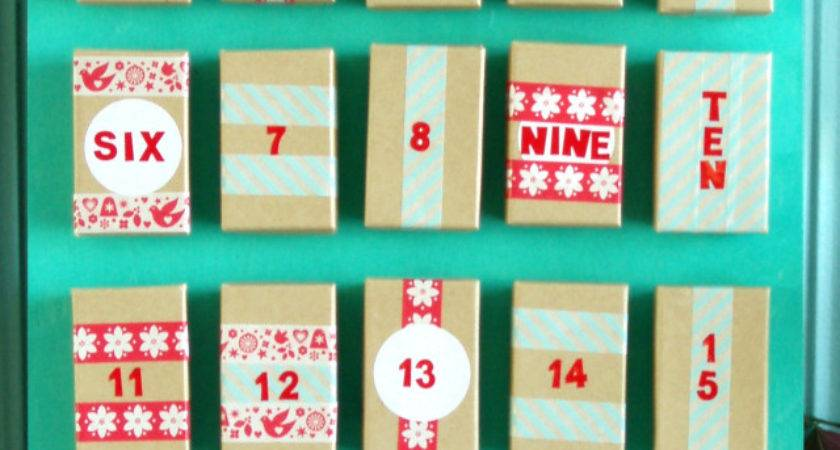 Make Your Own Advent Calendar Pretty Bee