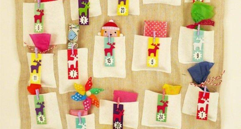 Make Your Own Advent Calendar Template