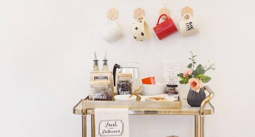 Make Your Own Coffee Bar Lily Val Living