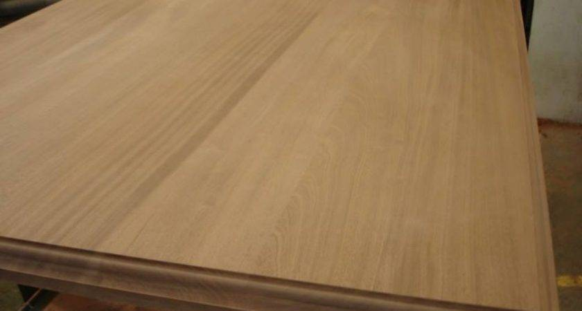 Making Solid Wood Countertop Traditional Kitchen