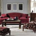 Maroon Sofa Sierra Bonded Leather