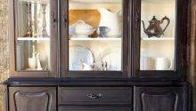 May Days Repurpose Ideas China Cabinet