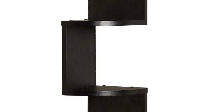 Mercury Row Giedi Corner Wall Shelf Black Reviews