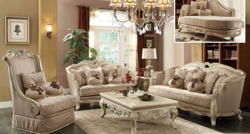 Meridian Antique White French Provincial Living