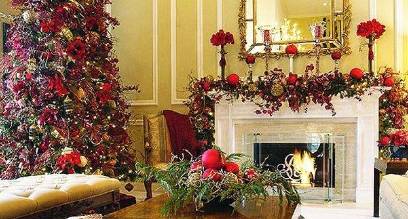 Merry Christmas Decorating Ideas Living Rooms
