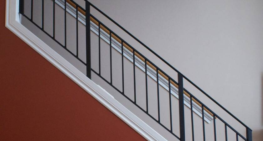 Metal Stair Railing Home Design Larizza