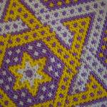 Metallic Purple Gold Lsu Colors Hand Acadianglassart