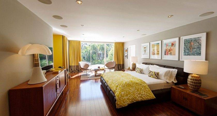 Mid Century Modern Beverly Hills Residence Vintage Style