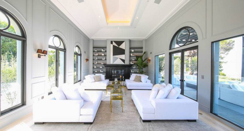 Million French Contemporary Home Beverly Hills