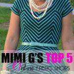 Mimi Top Fabric Shops Fashion Lifestyle