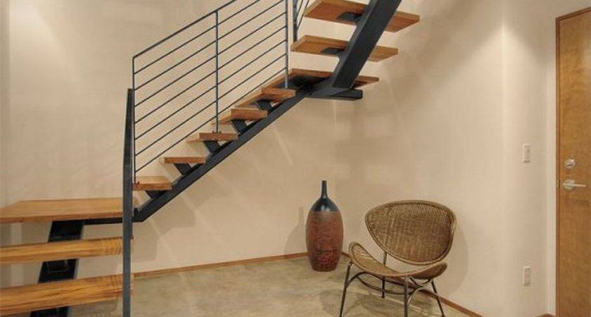 Minimalist House Simple Stairs Design Home Inspiration