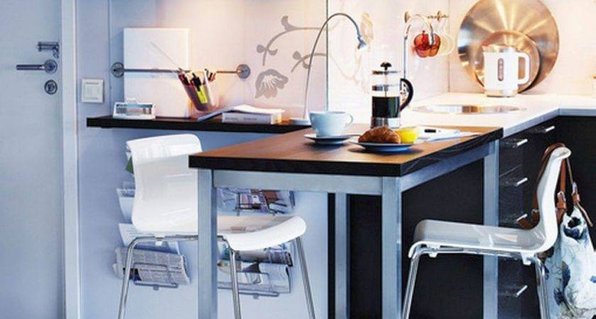 Minimalist Modern Kitchen Tables Small Spaces