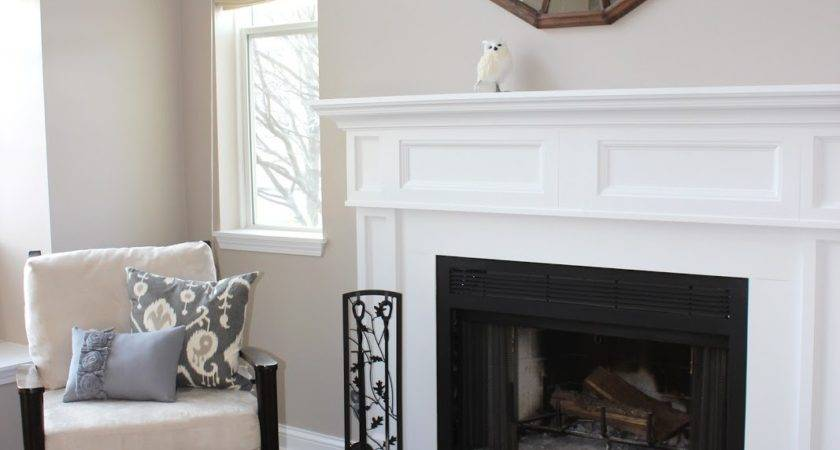 Mirror Wall Fireplace Decorating Ideas