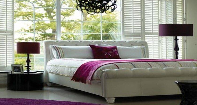 Miscellaneous Hot Pink White Bedroom Accessories